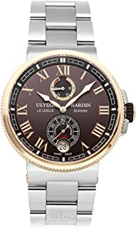 Ulysse Nardin Marine Mechanical (Automatic) Brown Dial Mens Watch 1185-126-7M/45 (Certified Pre-Owned)