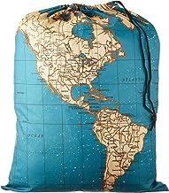 """Kikkerland LB06MP Bolsa de lavandería """"Mapa del mundo"""", 41 cm x 56 cm"""