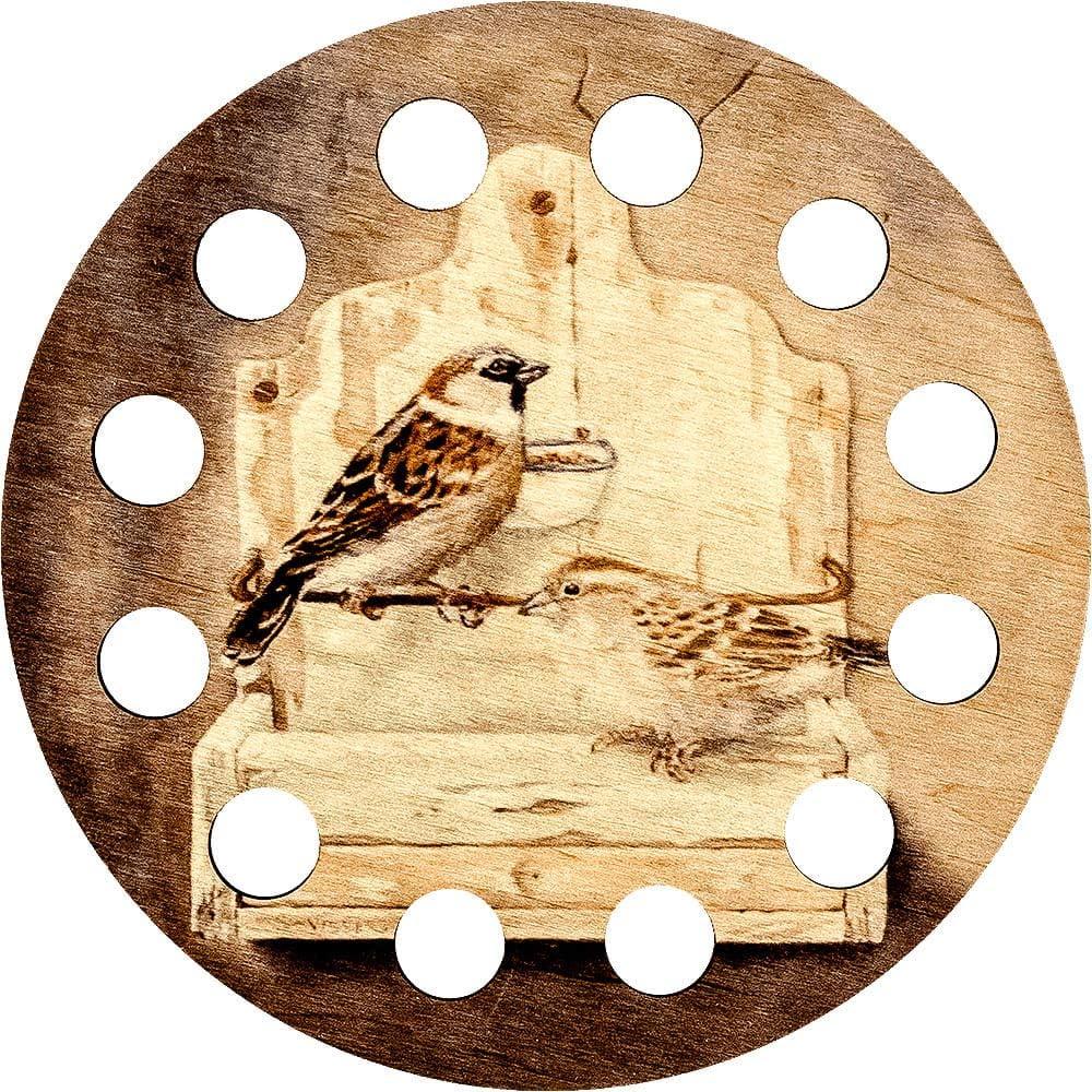 Lonjew Floss Holder Thread Sorter Sparrow Art Ranking TOP8 De Bird Embroidery Nashville-Davidson Mall