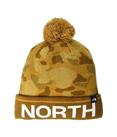 The North Face Ski Tuke (Cargo Khaki Tonal Duck Camo Print) Beanies