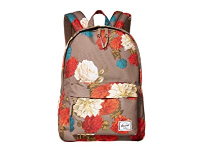 Herschel Supply Co. Classic Mid-Volume (Vintage Floral Pine Bark) Backpack Bags