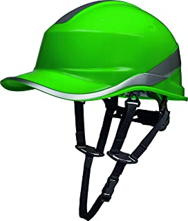 Delta Plus Baseball Diamond V Up Green Hard Hat Safety Helmet Bump Cap PPE …