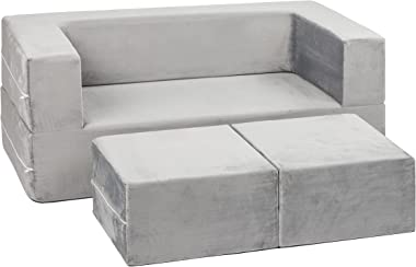 Milliard Kids Couch - Modular Kids Sofa for Toddler and Baby - Better Than The Nugget Kids Couch