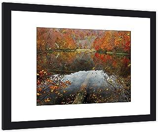 GaviaStore Art Prints - con Marco 70x50 cm - Cuadros Impresiones Pintura Cartel Foto Mueble Art hogar impresión decoración...