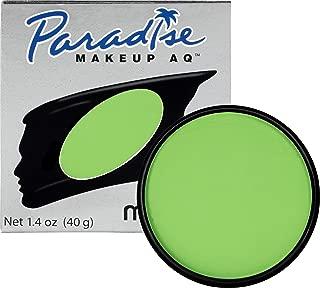 Mehron Makeup Paradise AQ Face & Body Paint, LIGHT GREEN: Pastel Series – 40gm