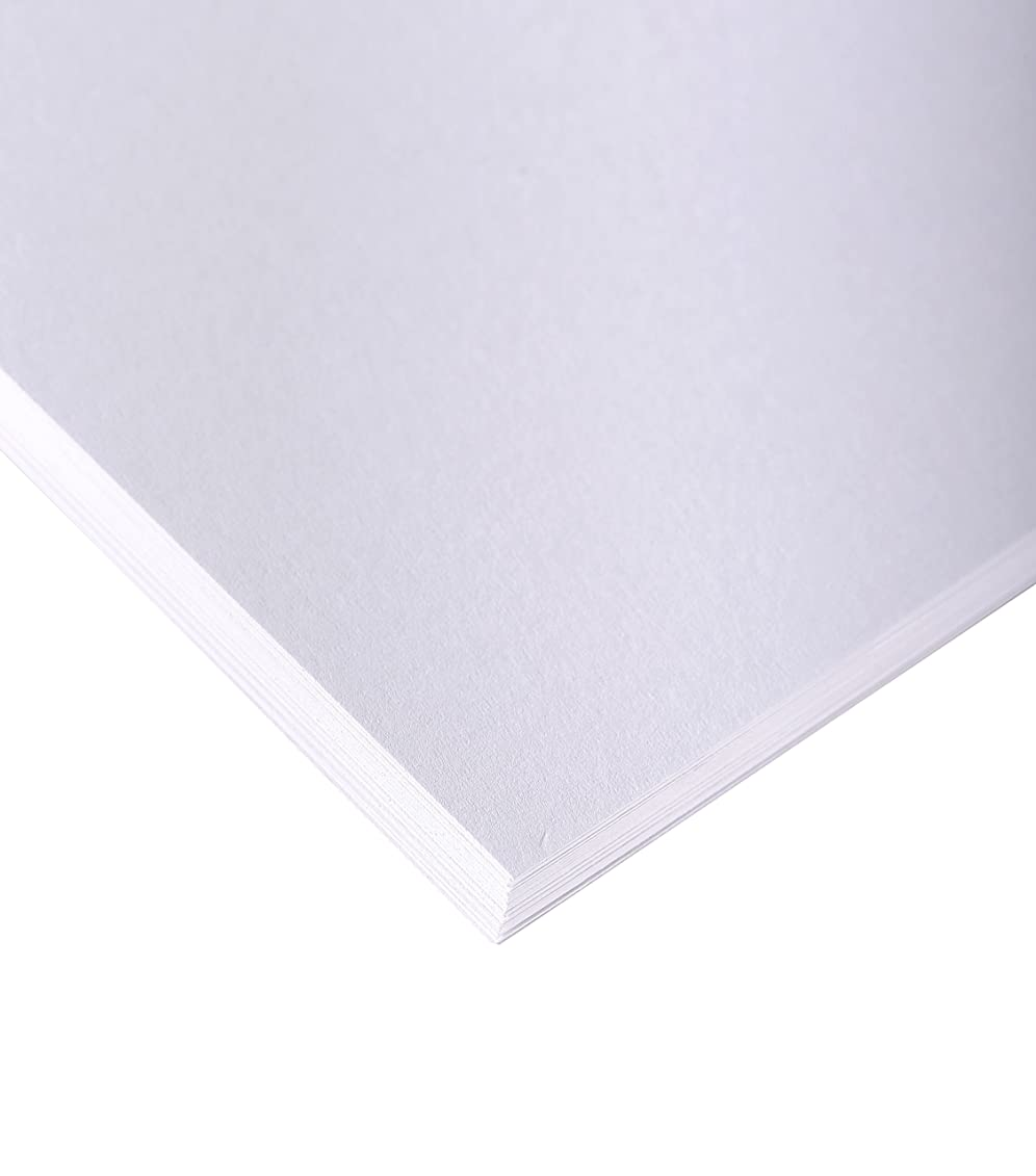 Clairefontaine 80 x 120 cm Drawing Sketch Paper, 200 g, White, Pack 10 Sheets