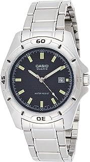 ساعة كاسيو ميتال فاشن للرجال MTP-1244D-8ADF (CN) - انالوج بعقارب، اسود