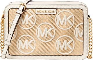MICHAEL Michael Kors Jet Set Large East/West Crossbody Light Cream Multi One Size