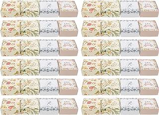 WINOMO 40Pcs Zeep Verpakking Dozen Zelfgemaakte Zeep Bar Wikkelen Dozen Diy Zeep Karton Verpakking Gevallen Voor Zeep Bars...