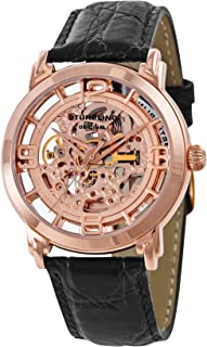 Stuhrling Original Men's 165.334514 Lifestyle 'Winchester' Skeleton Automatic Watch