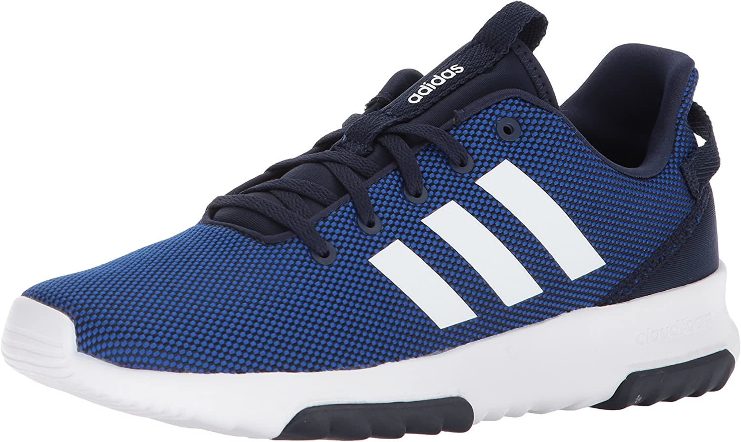 Adidas Neo Men's CF Racer TR, Collegiate Royal White Collegiate Navy, 5 M US