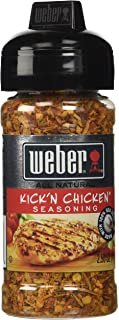 WEBER Grilling Seasoning KICK'N CHICKEN 2.5 oz