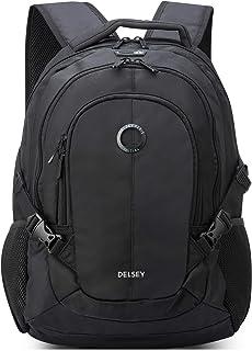 "DELSEY Paris Navigator Laptop Backpack, Black, 15.6"" Sleeve"