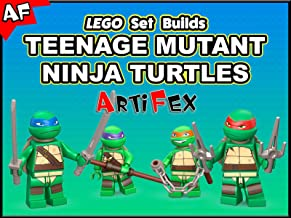 Clip: Lego Set Builds Teenage Mutant Ninja Turtles - Artifex