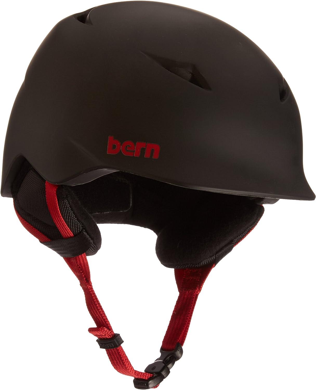 Bern Boys Camino Helmet (Matte Black   Small   Medium)