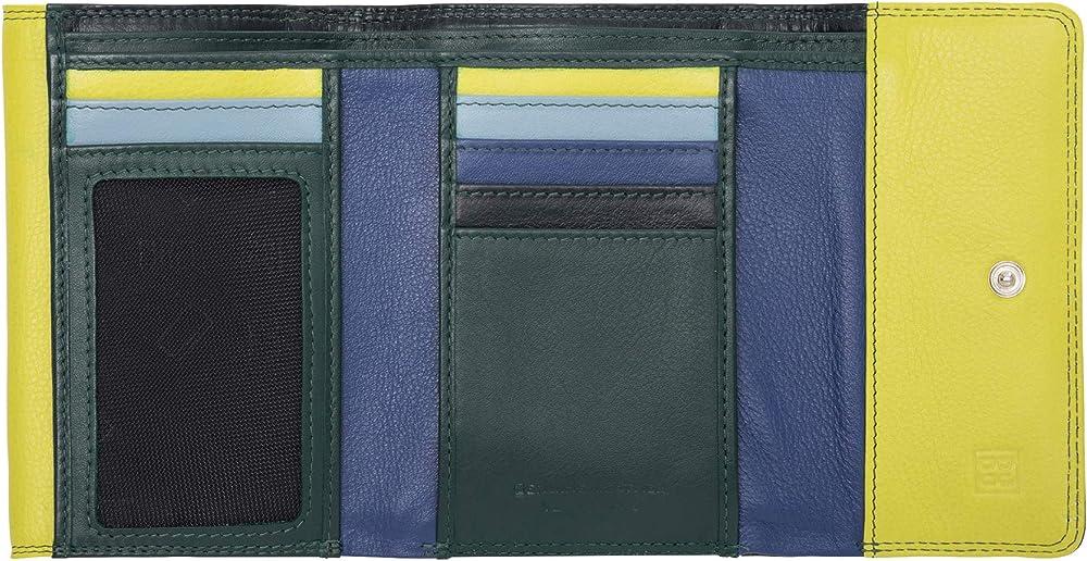 Dudu portafoglio per donna in pelle porta carte di credito con protezione anticlonazione 8031847173963