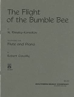 Flight of the Bumblebee, for Flute with Piano