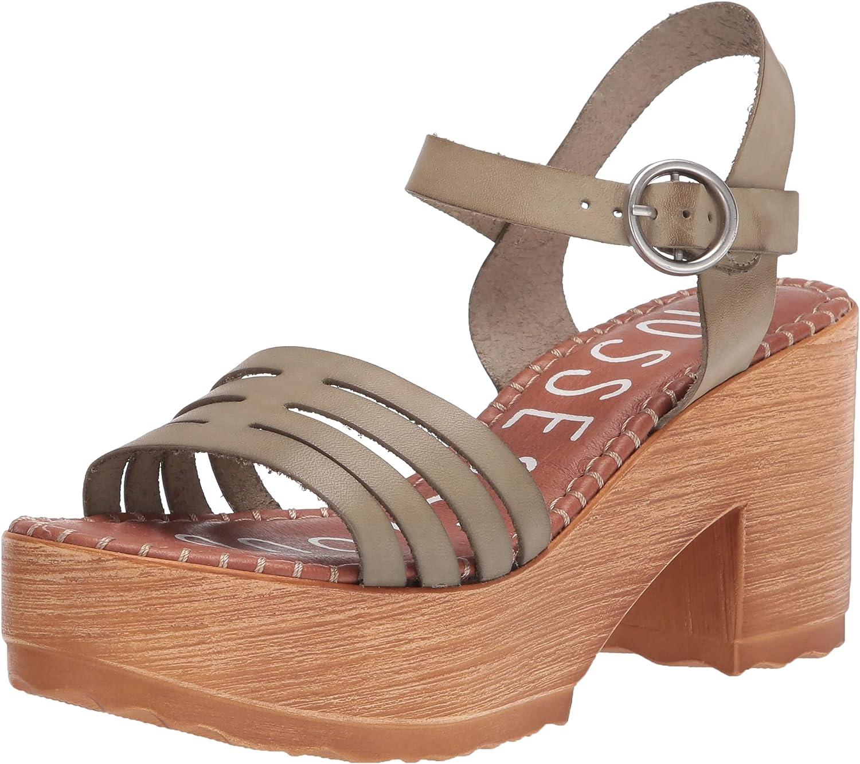 Musse & Cloud Women's Anke Strap Heeled Sandal