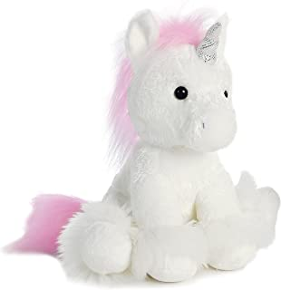 Aurora World Dreaming of You Plush Unicorn, White, 12
