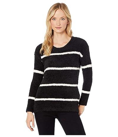 Tribal Long Sleeve Crew Neck Sweater (Black) Women
