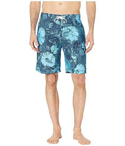 Speedo Garden Wave Bondi Boardshorts 20 (Peacoat) Men