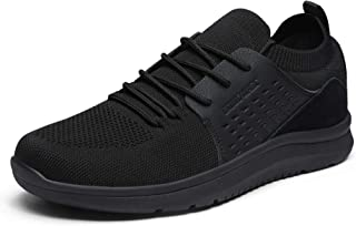 Men's Lightweight Fashion Sneakers Casual Walking Shoes Knit Mesh Breathable Sneakers Tennis Shoes