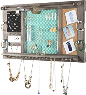 hanging jewelry organizer for necklaces