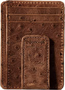 M&F Western Vintage Ostrich Money Clip