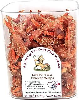 Chicken Wrapped Sweet Potato Dog Treats Made In Idaho