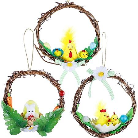 Easter Wreath Spring Wreath For Front Door Mini Wreath Front Door Decor Spring Decor