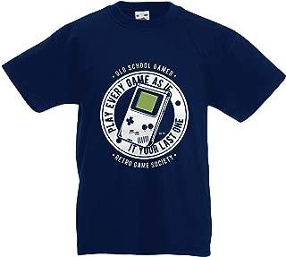 lepni.me Kids T-Shirt Old School Video Gamer, Retro Game Society, Gaming Fan