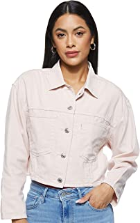 Levi's Women's Cropped Cool Trucker Jacket Jacket