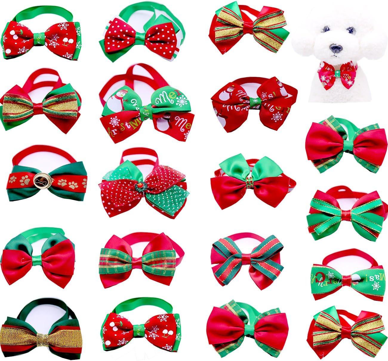 Bargain yagopet 20pcs Christmas Small Dog Ties Colla Bowties shopping Bow Cat