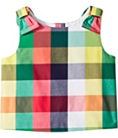 Sleeveless Plaid Top (Toddler/Little Kids/Big Kids)