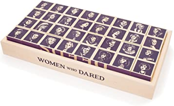 product image for Uncle Goose Women Who Dared Blocks - Made in The USA