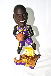 Limited Edition Shaq Oneal #34 LA LAKERS PURPLE JERSEY action Limited Edition Bobble head