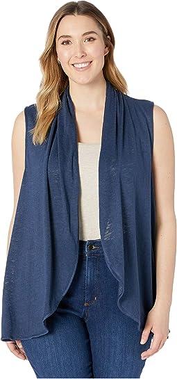 Plus Size Kori Shawl Collar Vest
