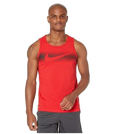 Nike Dry Tank Chalk Swoosh (University Red/Black) Men