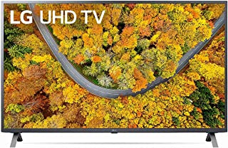 LG UHD 4K TV 65 Inch UP75 Series 4K Active HDR webOS Smart with ThinQ AI, Black, 65UP7550PVG, Smart TV