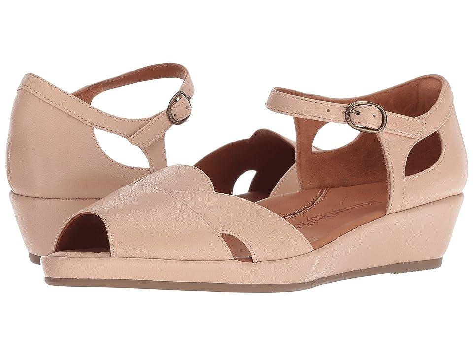 Vintage Style Shoes, Vintage Inspired Shoes LAmour Des Pieds Betterton Nude Capri Kid Womens Sandals $198.95 AT vintagedancer.com