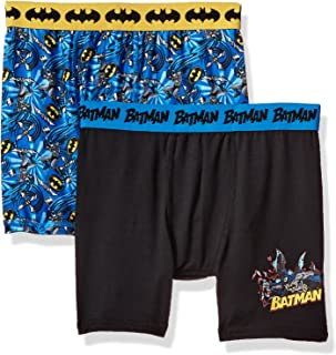 31b423ab10d95 DC Comics Boys' Batman 2pack Athletic Boxer Briefs-LIGHT , COOL ,  COMFORTABLE