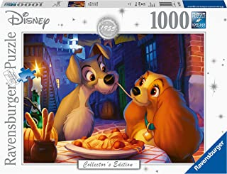 Ravensburger Ravensburger Disney Moments 1955 Lady and Tramp 1000 Pieces Puzzle