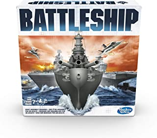 BATTLESHIP The Classic Naval Combat Game - 2 Player - Family Board Games and toys for kids, boys, girls - Ages 7+