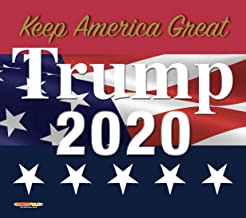 product image for WOW!PAD 7.5 x 8.5 Inches Mouse Pad - Keep America Great, Trump 2020 Flag Design, Includes 2 Non-Slip Trump Bookmarks