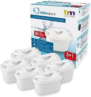 comprar comparacion TM Electron TMFIL006+ Pack de 6 a 12 Meses de Filtros de Agua, Blanco, 6 Unidades