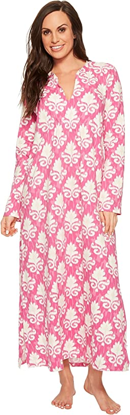 BedHead - Long Sleeve Stretch Knit Long Night Gown