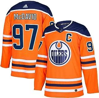 adidas Connor McDavid Edmonton Oilers NHL Men's Authentic Orange Hockey Jersey