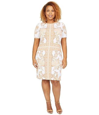 MICHAEL Michael Kors Scarf Print Crew Neck Dress Women