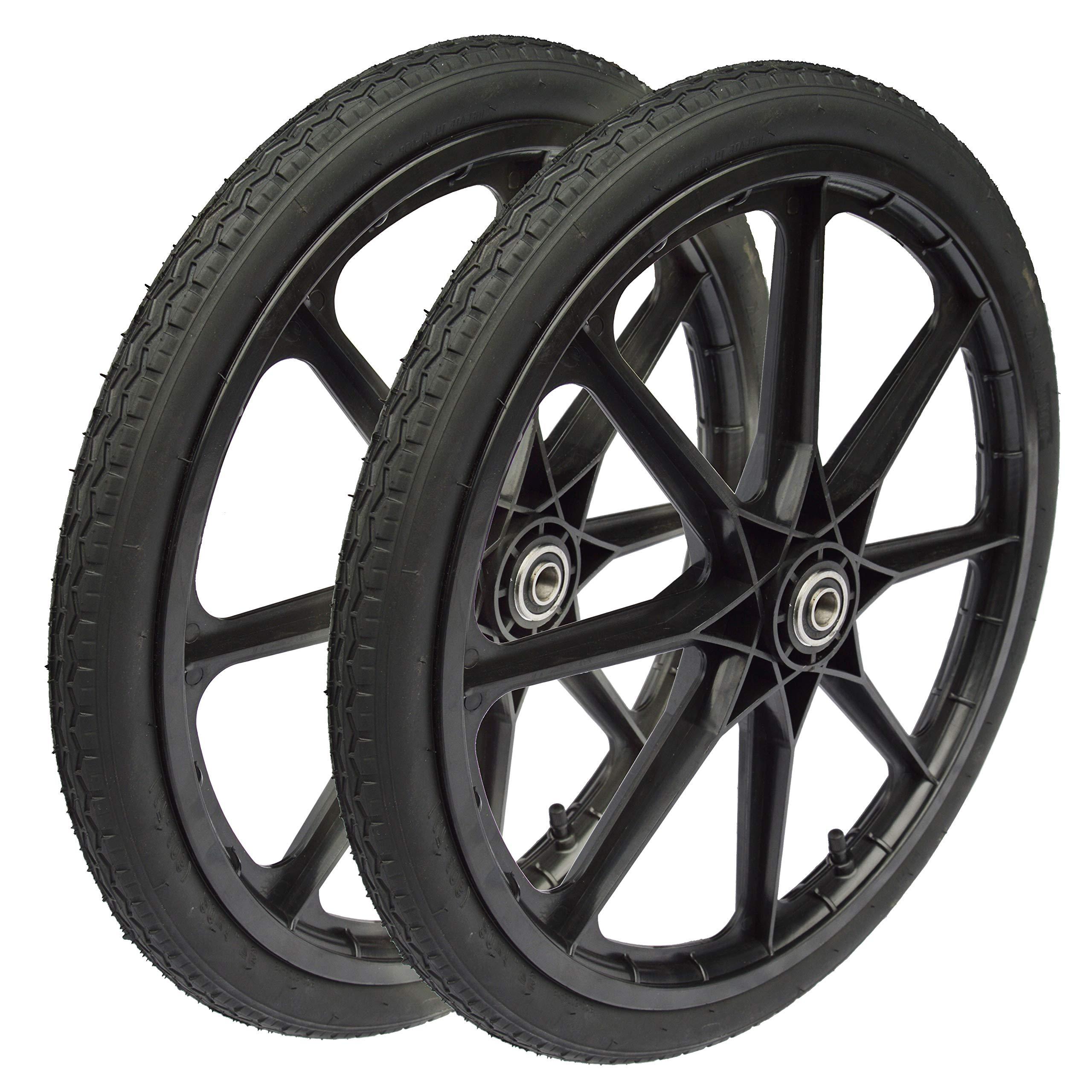 amarillo RimSavers Se adapta a ruedas de hasta 22 pulgadas de di/ámetro