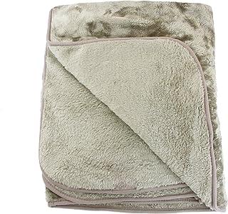 Amago Couverture Extra-Douce, Cashmere-Feeling, Taupe, 220 x 240 cm